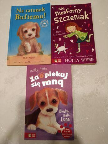 Książki o zwierzętach HOLLY WEBB