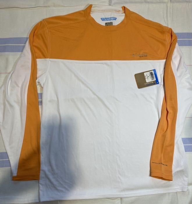 Мужская футболк с длинным рукавом Columbia PFG ZERO Rules - Белая кепк Винница - изображение 1