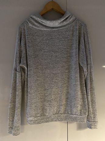 Szary sweter S H&M