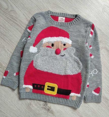 Фирменная кофта новогодняя,свитер зимний, новогодний.