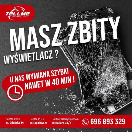 Wyświetlacz LCD iPhone 8 Plus + Wymiana Reda Puck Władysławowo