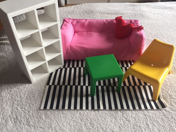 IKEA HUSET Mebelki pokój dla lalek