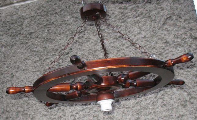 Lampa żyrandol koło sterowe 68