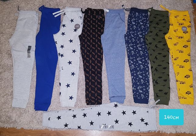 Спортині 134/140 Штани джогери брюки Польща waikiki fox&bunny reserved
