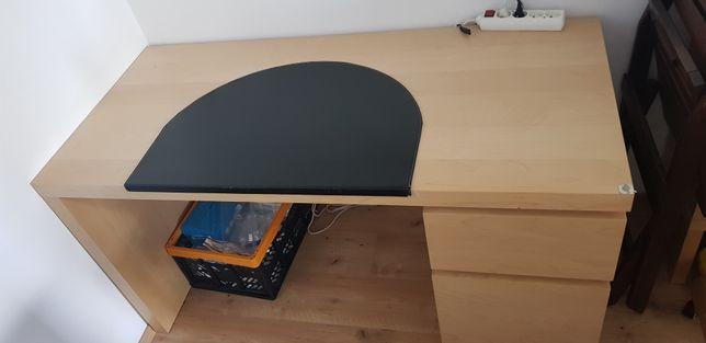 Biurko Ikea Malm z szafką