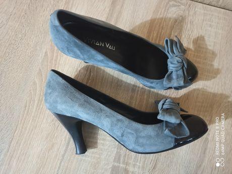 Туфли женские р.42.кожа.Vero Cuoio.Италия