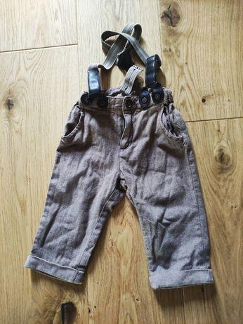 Spodnie chłopięce H&M rozm. 74