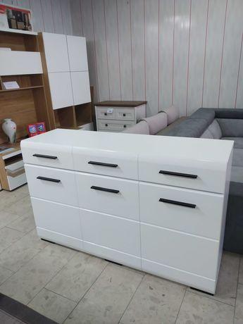 Nowa, piękna, biała komoda, duża i pojemna!