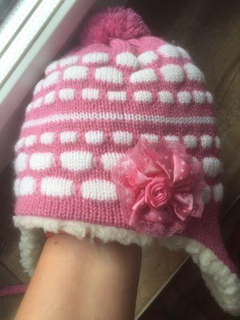 Очень теплая зимняя шапка на овчине