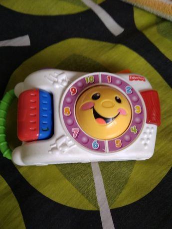 Aparat fotograficzny Fisher Price -zabawka muzyczna z efektami świetl.