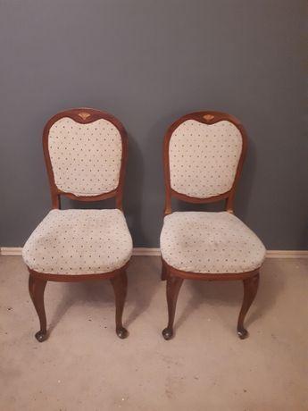 piękne stare krzesla 2 sztuki