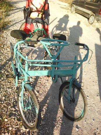 Bicicleta quatro rodas