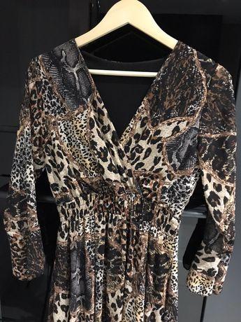 Sukienka damska włoska, stan idealny, rozmiar S/M