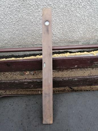 Antyk Poziomica drewniana