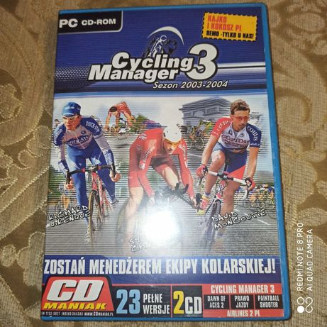 Gra Cycling Manager 3 PC CD-Rom