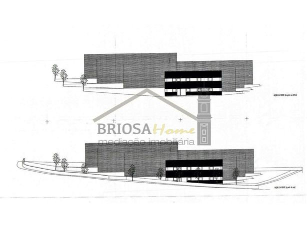 Terreno com projeto aprovado para 6 Armazéns - Antanhol