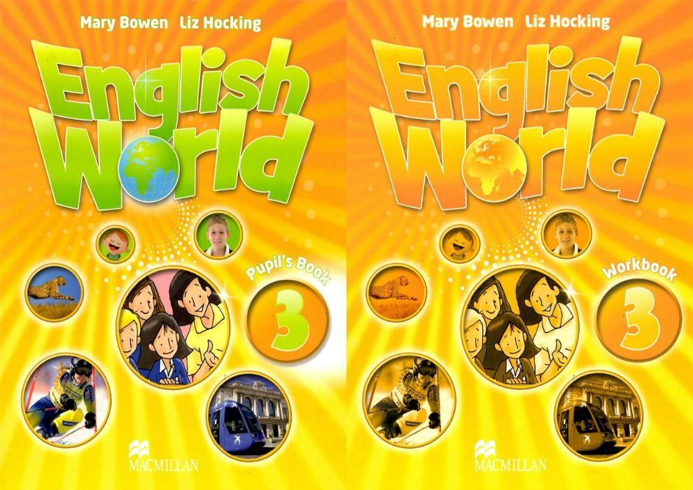 English World 3 комплект: Pupil's Book + Workbook + CD Херсон - изображение 1
