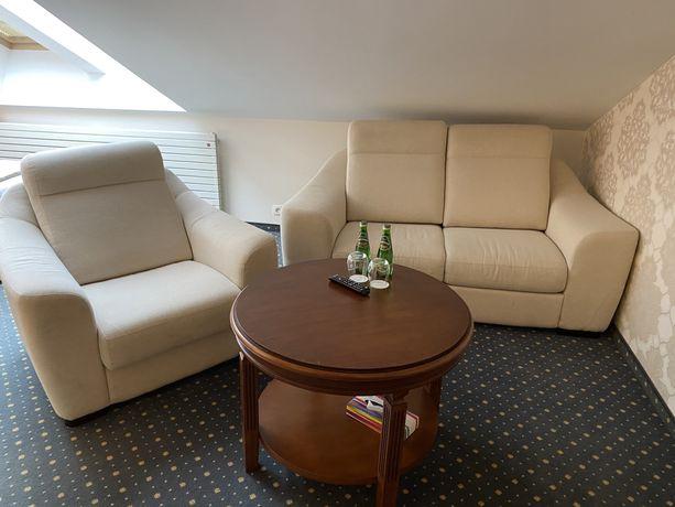 Zestaw Sofa 2 os rozkladana i dwa fotele