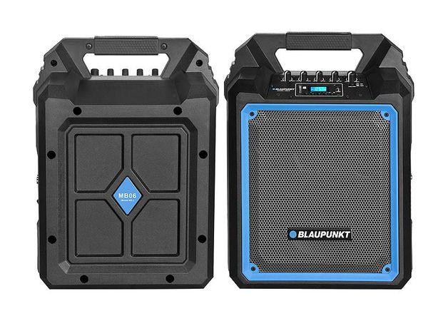 NOWY Głośnik Przenośny Bluetooth RADIO BLAUPUNKT MB6 BT