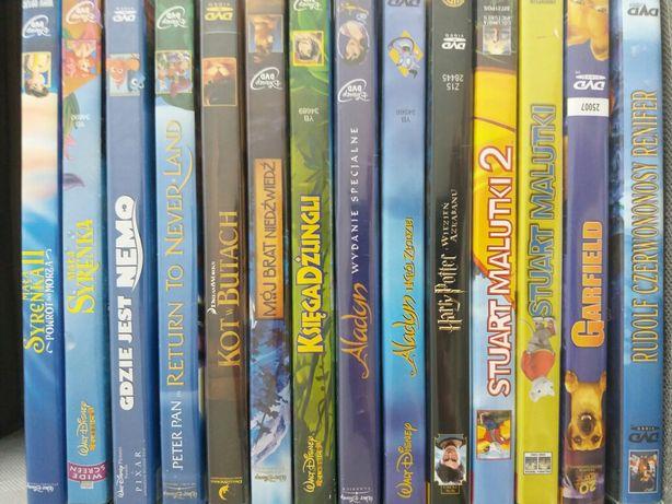 Nowe bajki disney pixar dvd bluray 50 tytułów