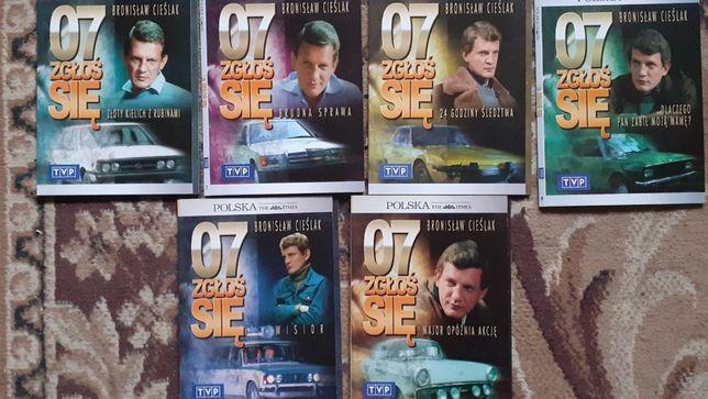007 zgłoś się, kolekcja filmów DVD o Borewiczu