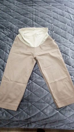 Odzież ciążowa-spodnie 3/4 oraz tunika