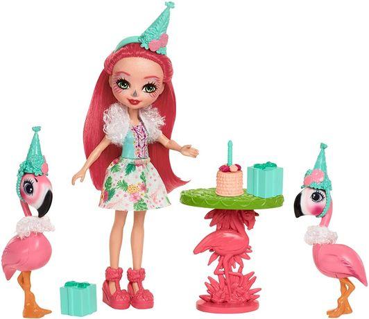 Набор Энчантималс Праздник Фламинго и кукла Фенси Enchantimals