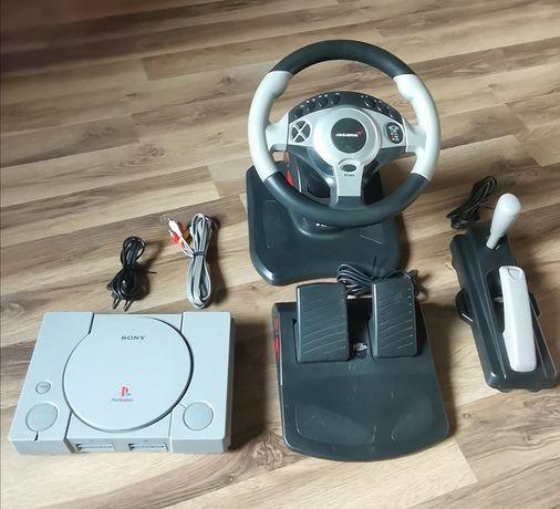Playstation 1 kierownica mclaten mcps01 zestaw