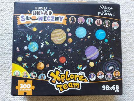Puzzle Układ słoneczny xplore team