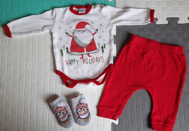 Новогодний костюм для новорождённого
