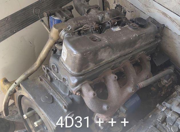 Двигатель 4D31 Mitsubishi после капитального ремонта
