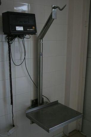Balança de talho- bascula c/ gancho e plataforma, sem o visor
