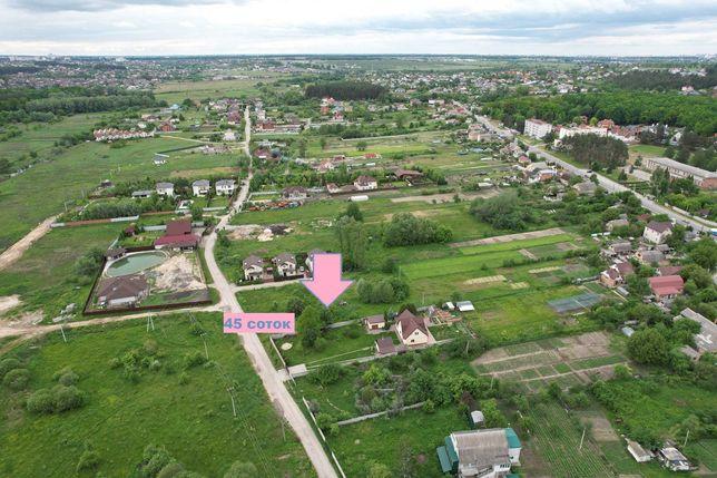 Продаж ділянки 45 соток селище Юрівка поруч Віта Поштова