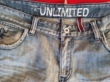 Spodnie jeansowe Ecko Unlimited rozmiar 36, XL