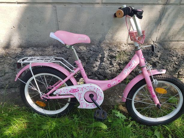 Детский велосипед profi princess 16