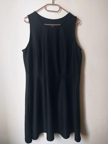 Czarna sukienka roz.50