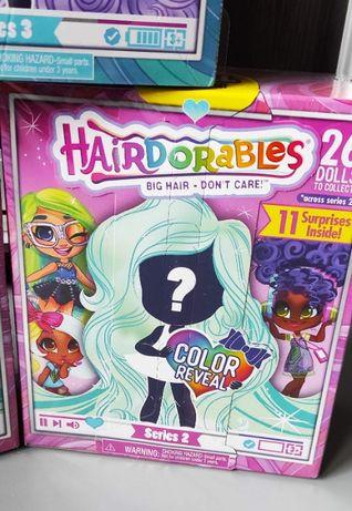 Кукла Hairdorables 2 серия Color Crimp Girl Surprise Dolls Хердорабалс