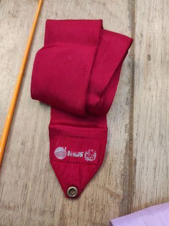 Лента сасаки sasaki для художественной гимнастики, 4 м, красная