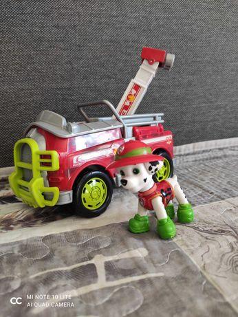 Psi Patrol pojazd samochód wóz strażacki Marshall
