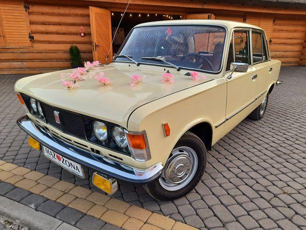Wynajem duży Fiat 125p samochód auto do ślubu zabytkowy świętokrzyskie