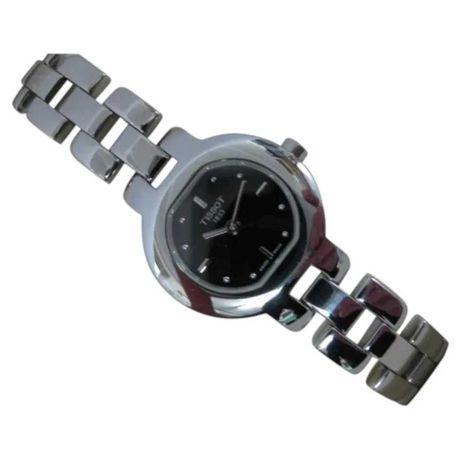 1990's Tissot Stainless Steel Quartz Ladies Watch | Black Dial |As New