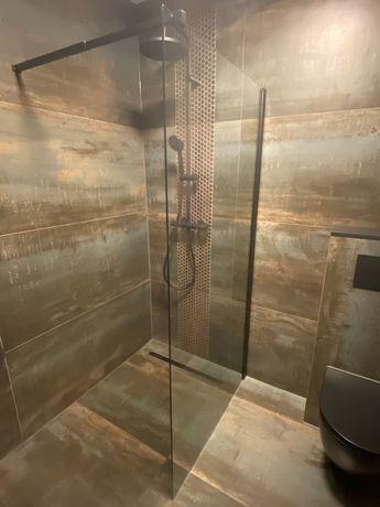 Kabina, szyba, ścianka prysznicowa walk-in