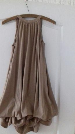 Nowa brązowa sukienka La Redoute rozm 34/36 z regulacją długość