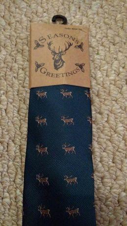 Новый мужской узкий галстук с принтом Cedar Wood State