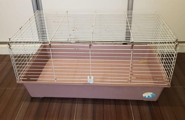 Klatka dla królika 100cm Ferplast Rabbit , klatka dla świnki morskiej