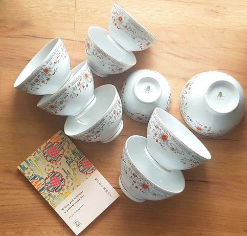 Chińskie miseczki miski porcelana orient PRL