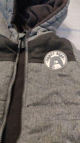 Куртка зимняя на флисе 86 рост