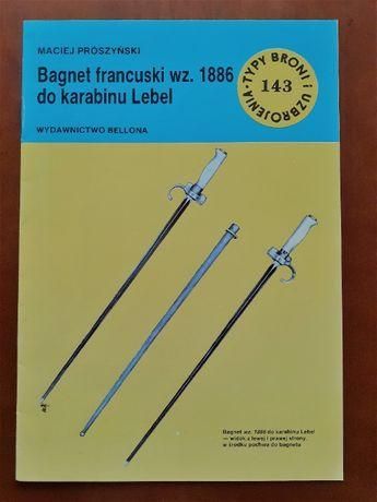 Bagnet francuski wz. 1886 do karabinu Lebel. Militaria
