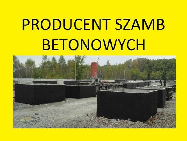 zbiorniki betonowe na deszczówkę betonowy szambo szamba 4,5,6,10,12m3
