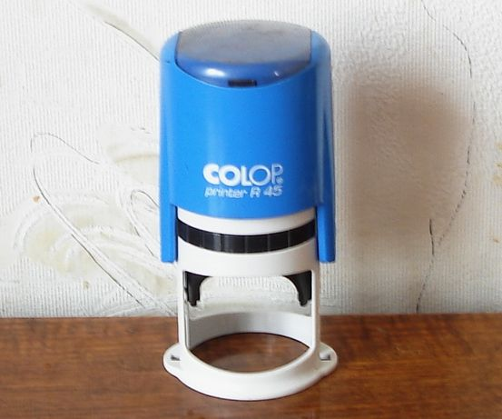 Оснастка для круглой печати диаметр 45 мм Colop printer R-45